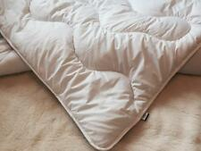 PURE MERINO WOOL DUVET QUILT COTTON, 100% NATURAL ,LIGHT WEIGHT SINGLE + pillow