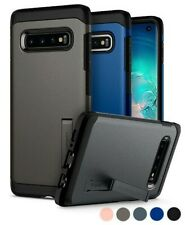 Galaxy S10, S10 Plus, S10e Spigen® [Tough Armor] Shockproof Case Cover