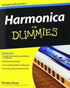 Harmonica For Dummies (Book And Cd) by Various Mixed media product Book The