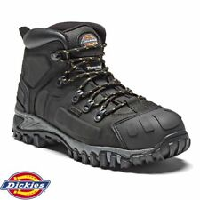 Dickies FD23310 Medway Safety Boots Thinsulate Steel Toe Leather Black Size - 9