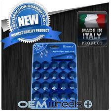 (20) NEW 21MM HEX BLACK CAP COVER SHIELD LUG BOLT NUT DODGE CHRYSLER WHEEL ITALY