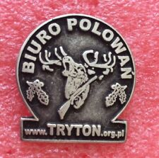 Pins CHASSE CHASSEUR Hunting BIURO POLOWAN