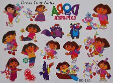Dora La exployer + Botas Nickelodeon Cartoon organismo temporal Tattoo pegatinas