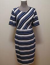 TARGET DRESS STRIPES SHEATH DRESS, Sz 12 WORN ONCE
