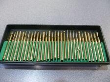 SET 30  FRESE DIAMANTATE PER DREMEL VARI MODELLI 3mm - MINI MOLE UTENSILE