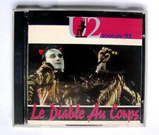 """CD U2 """"LE DIABLE AU CORPS"""" LIVE ZOOROPA 1993  2 CD NUOVI"""