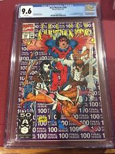 New Mutants 100 CGC 9.6   NM+ Condition. 1st app X-Force