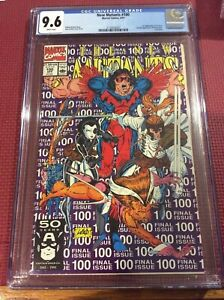 New Mutants 100 CGC 9.6   NM+ Condition. 1st app X-Force
