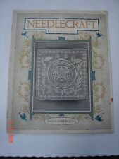 NEEDLECRAFT Magazine  November 1923 CREAM of WHEAT AMERICAN LEGION POSTUM WARDS