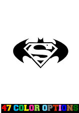 Decal Vinyl Truck Car Sticker - DC Comics Batman VS Superman Logo