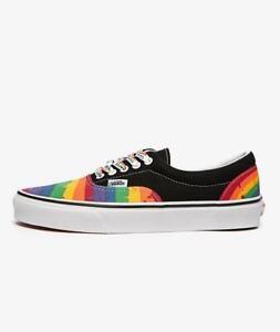 Vans Era Rainbow Drip VN0A4U392CV Mens Size 7.0 Women's Size 8.5 NEW