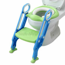 Baby Training Toilet Potty Trainer Seat Chair Toddler Ladder Step Up Stool �