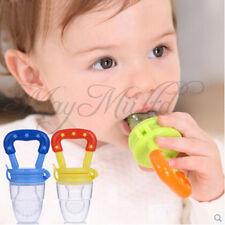 Silicone Baby Feeder Feeding Fresh Food Fruit Juice Milk Shake Safe Supplies