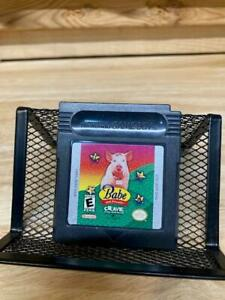 Babe and Friends Nintendo Game Boy Game Authentic Original OEM Black Cartridge