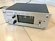 Pioneer PP-215 Digital timer model Alarm Flip Clock Vintage Audio Equipment0664