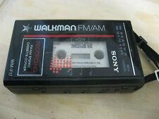 Vintage Sony Walkman Cassette Player Fm Radio WM-F17