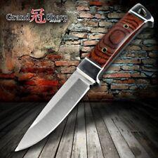 Tactical Hunting Knife Outdoor Camping Survival Knives Defense Fishing Tools NEW