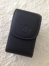 """Cellphone Size 3.4""""x2.22""""x0.88"""" Small Leather Case Belt Loop / Clip Pouch"""