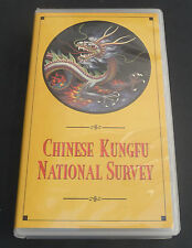 Chinese KungFu National Survery NV192 Kung Fu VHS rare oop 1984 survey
