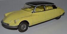 Citroën DS 19 jaune toit noir à friction JEP 1/24 idem JOUSTRA GEGE