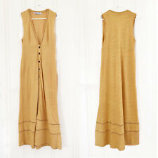 New Free People Beach Maxi Gold Dress (large)
