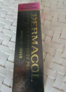 100% Original Dermacol Makeup Cover Tattoo Pick 1 New In Box Waterproof SPF 30