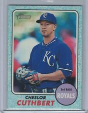 CHESLOR CUTHBERT 2017 Topps Heritage Blue /50 #132 (C2322)