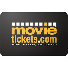Movietickets.com Gift Card $25 Value, Only $20.45! Free Shipping!