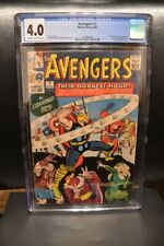 Avengers #7 (1964) CGC 4.0, OW/W Pages; Perfect Case