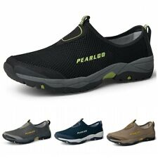 Men's Breathable Sneakers Trainers Sports Mesh Beach Slip On Sandals Shoes Sz B