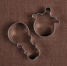 Baby Cookie Cutter, Set of 2 - Baby Shower