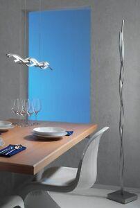 Escale, Silk, Stehleuchte, Designerleuchte, neu,OVP, Aluminium geschliffen, LED
