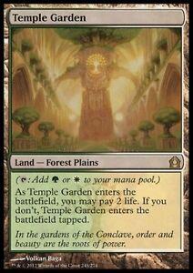 Jardin du temple VF Français -  French Temple Garden - Magic Mtg -