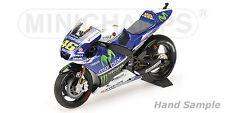 1:12 Minichamps Valentino Rossi Yamaha YZR M1 2014 MotoGP 122143046 NEW