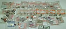 [44] NEW CHICAGO FAUCET MISC PARTS IN BAGS AERATOR ESCUTCHEONS NUTS WASHERS KB