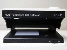 Counterfeit Money Detector UV W/M Ultraviolet Magnetic Bill Detector, (DP-401)