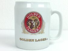 Vintage Adolph Coors Company Golden Lager Rams Head Beer Mug Retro Ceramic Stein