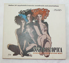 Stroboscopica CD Sonorizzazioni Psycho-Beat Italian 70's B-Movies Psychedelic