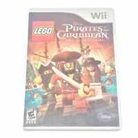 LEGO Pirates of the Caribbean: The Video Game (Nintendo Wii, 2011 Complete