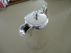 Vintage Walker & Hall 14cm Tall Silver Plate  Hotel Style Cofffee Pot