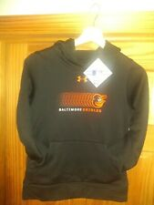 Baltimore Orioles Under Armour Hoodie On Field Apparel Black Youth Size Medium