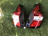 JDM 2017 Nissan NOTE E12 Taillights Tail Lamps Lights Set OEM