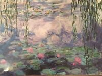 """1000 Piece Jigsaw Puzzle Museum Collection """"Nympheas"""" Claude Monet NEW SEALED"""