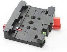 Adaptador de placa de liberación rápida para Manfrotto 501 500AH 701HDV 503HDV Q5 KJ