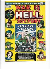 War Is Hell #8 August 1974 Marvel Comics Sgt. Fury