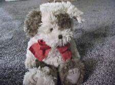 Nwt Boyds Bear Head Bean Series Collection Wheatley B. Barker Cream/Brown Puppy