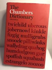 The Chambers Dictionary (10th Ed) by Chambers (Hardcover, 2006)