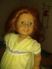 "American Girl 18"" Pleasant Company Doll red/ auburn hair blue green eyes"