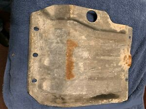 Classic Saab 900 Turbo Lower Front Transmission Protection Steel Skid Plate