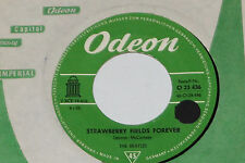 """The BEATLES-Strawberry Fields Forever/Penny Lane - 7"""" 45 Odeon (o 23 436)"""